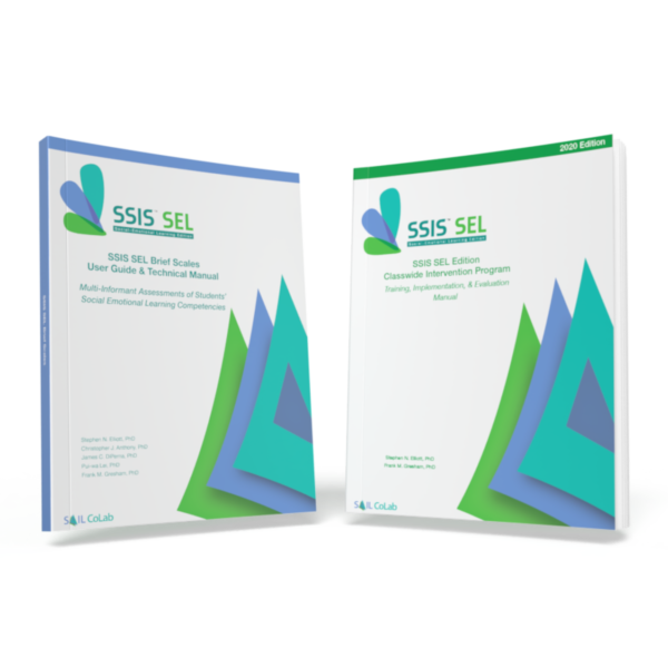 SSIS SEL Brief Scales and CIP Manual Covers